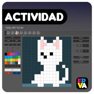 Pixel Art to CSS: Animación en píxeles.