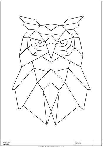Ficha de plástica para trabajar con paralelas.