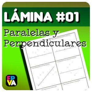 Lámina 01 Paralelas y Perpendiculares