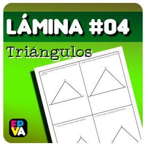 Lámina #04 Rectas y Puntos Notables de un Triángulo.