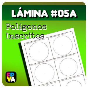 Lámina #05A - Polígonos Inscritos