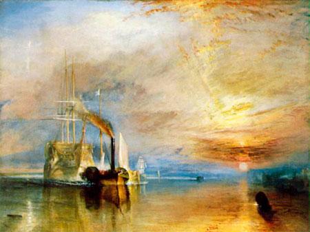 El temerario remolcador de William Turner