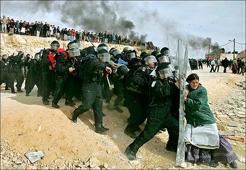 Fotografia premio Pulitzer 2007 de Oded Balilty