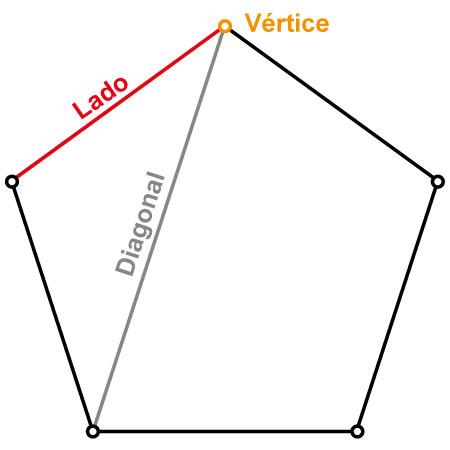 Elementos básicos de un polígono.