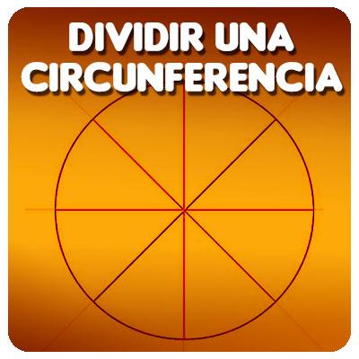 Dividir una circunferencia en partes iguales