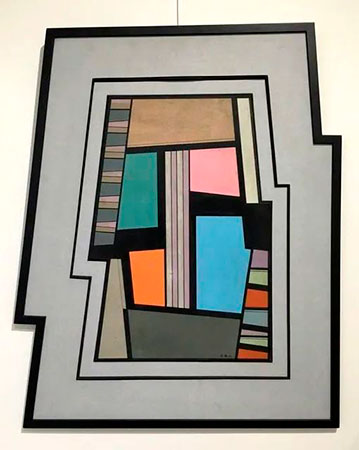 Formato irregular de pintura