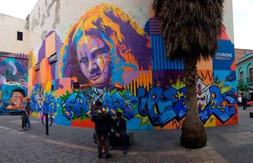 Formato irregular en arte urbano