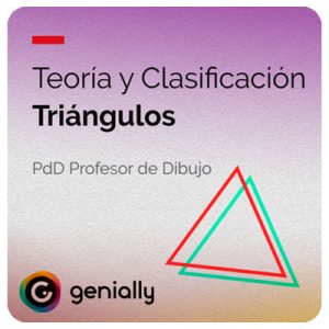 Teoría y Clasificación de Triángulos en Genially